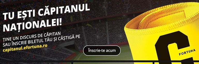 fortuna romania nationala de fotbal