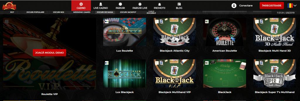 maxbet casino jocuri de masă