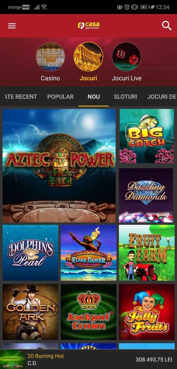 aplicatie casa pariurilor casino