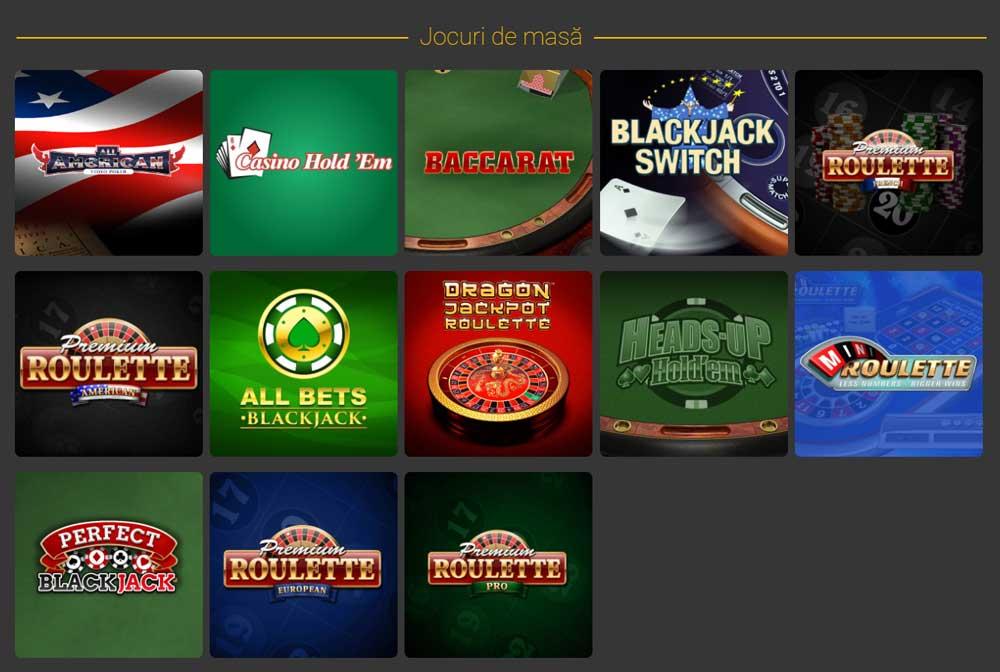 casa pariurilor jocuri cazino de masa