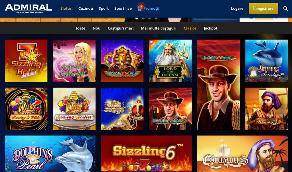 novomatic slot admiral online