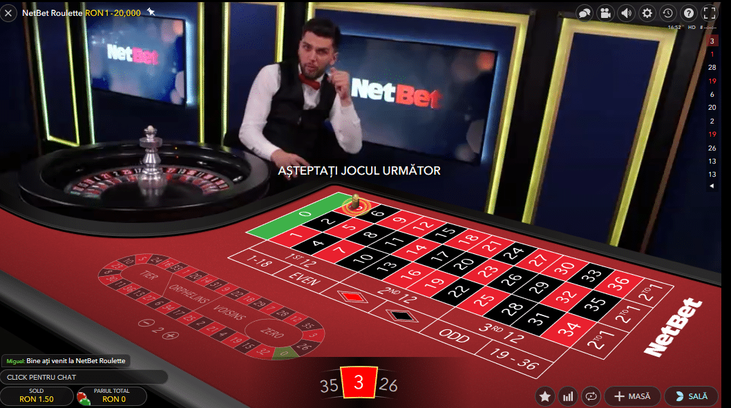 netbet live casino ruleta