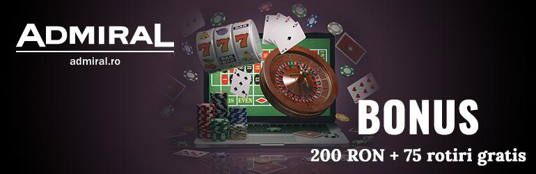 admiral bonus 200 RON