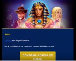 printscreen confirmare email admiral casino online