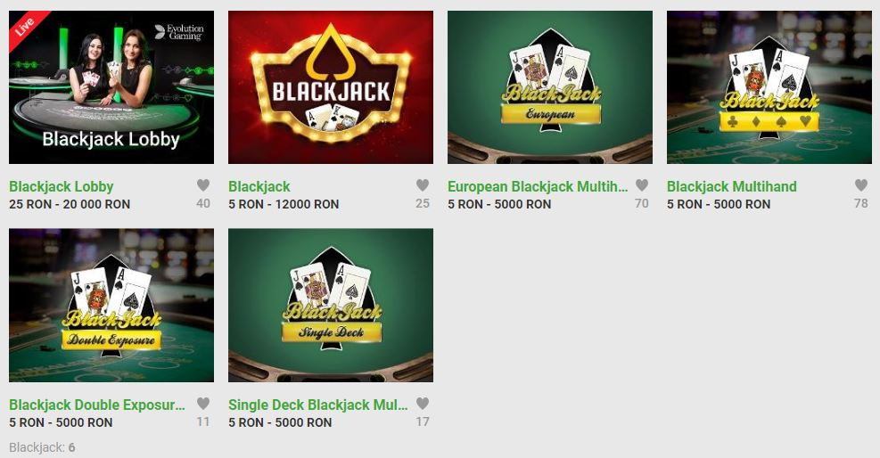 printscreen unibet blackjack