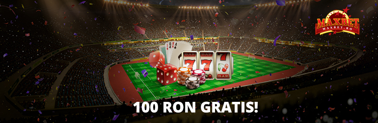 100 RON Gratis Maxbet