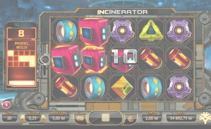 Incinerator slot gratis