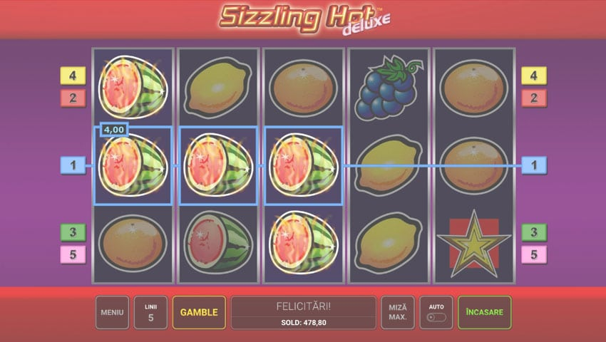 sizzling hot slot gratis
