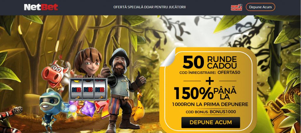 bonus netbet cu depunere 150%
