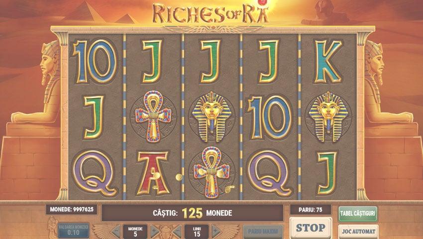 riches of ra slot gratis