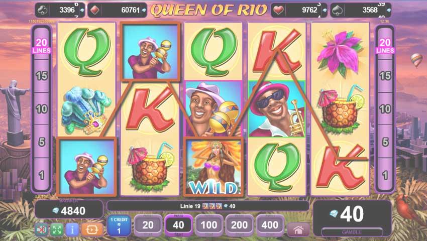 queen of rio gratis