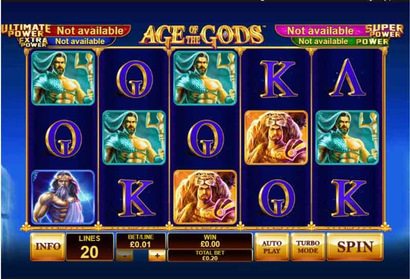 joc online age of gods slot la betano
