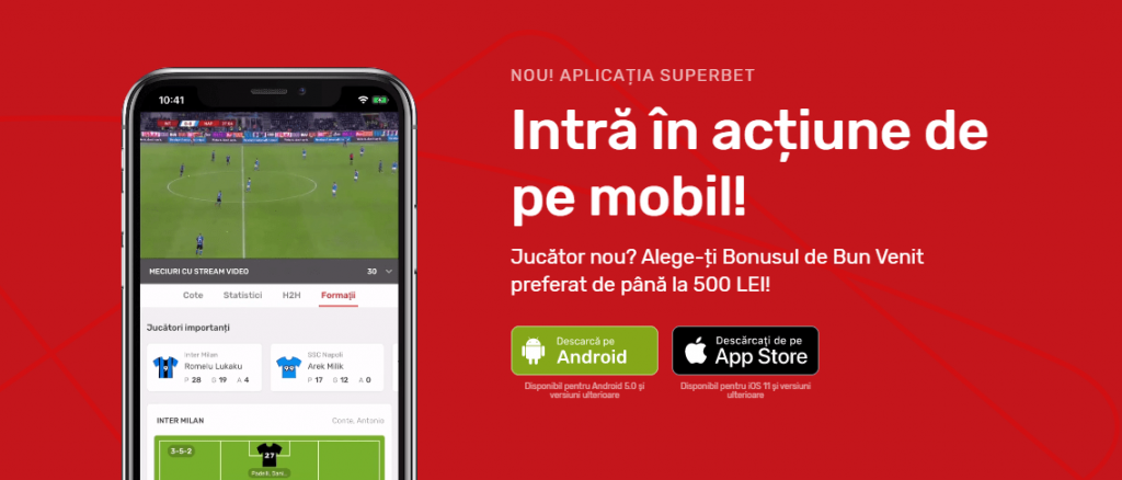 aplicatie superbet