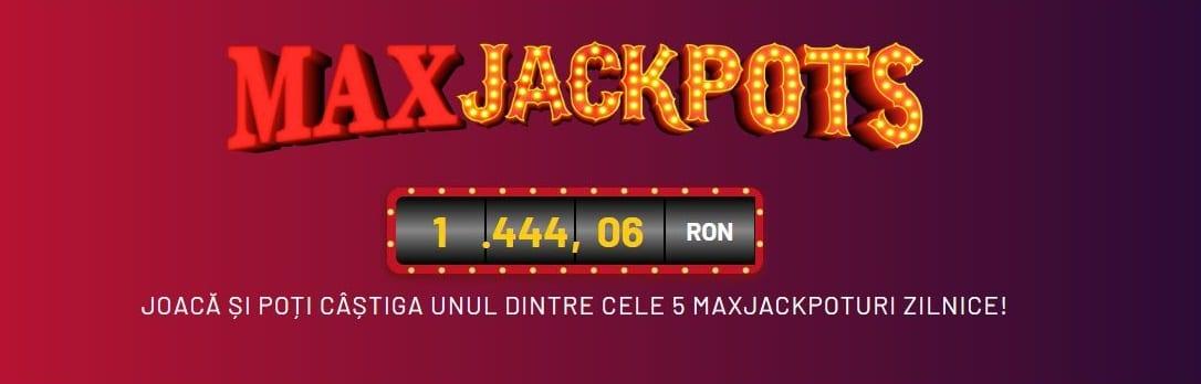 maxjackpots prompotie 10.000 RON