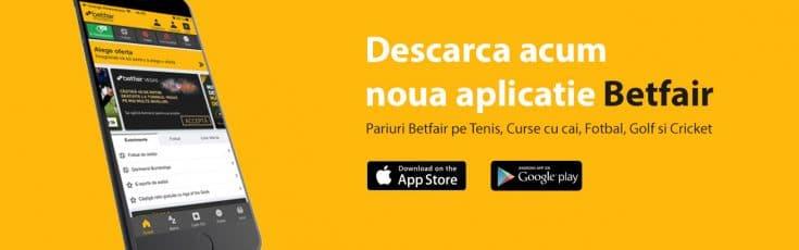 aplicatie Betfair