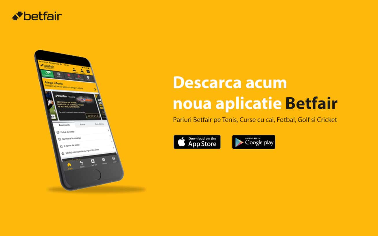 aplicatie Betfair