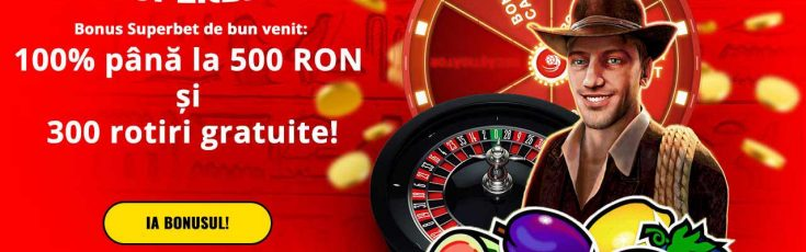bonus de bun venit Superbet casino