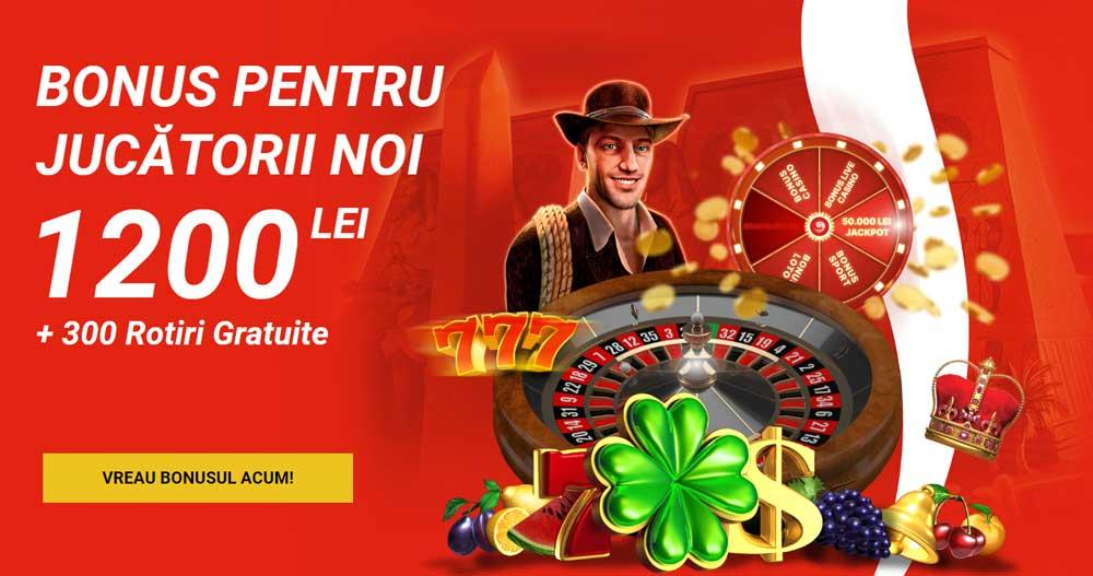 superbet bonus 300 rotiri gratuite si 1200 ron