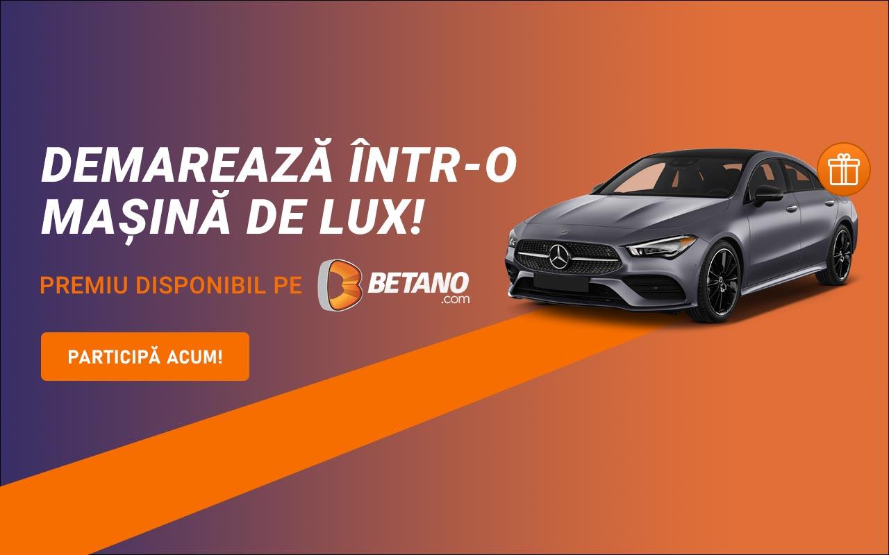 mașină de lux de la Betano