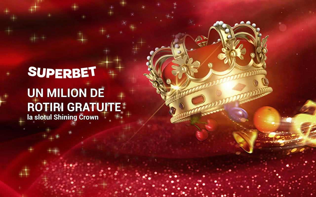 bonus Superbet casino 1 milion de rotiri gratuite