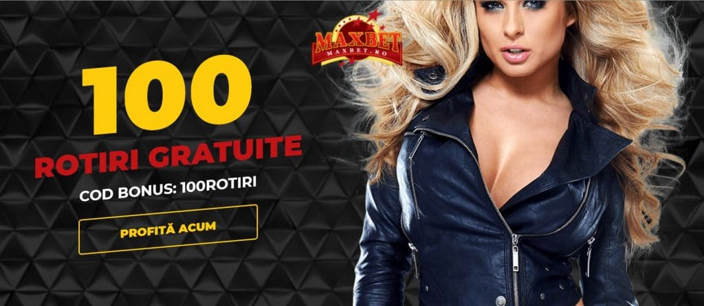 maxbet 100 free spins
