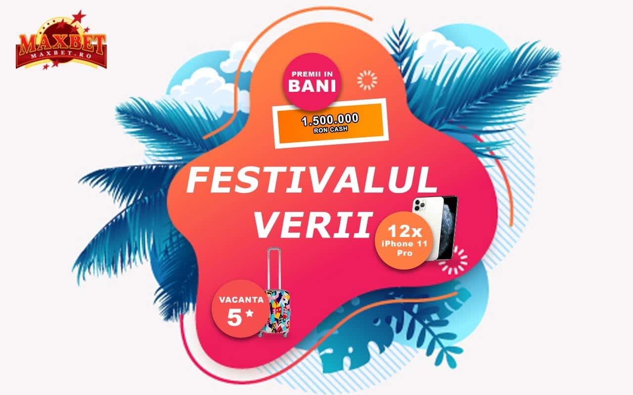 festivalul verii la Maxbet