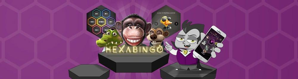 Cel mai șmecherific bingo - HexaBingo