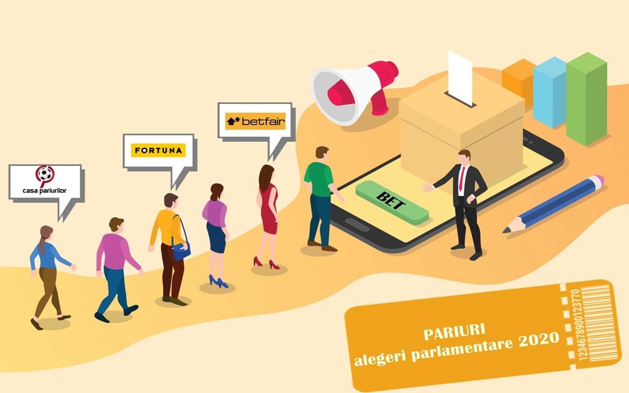 cote pariuri alegeri parlamentare 2020