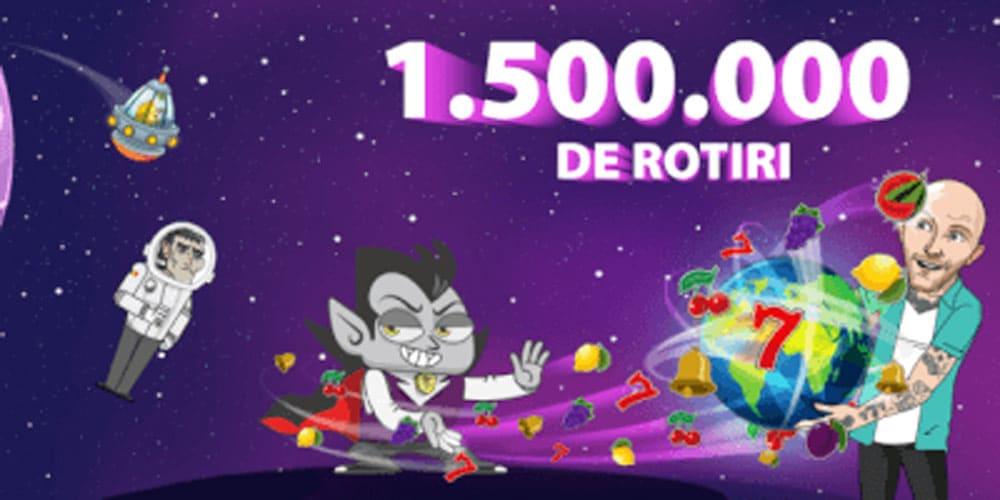 bonus Vlad cazino 1.500.000 rotiri gratuite