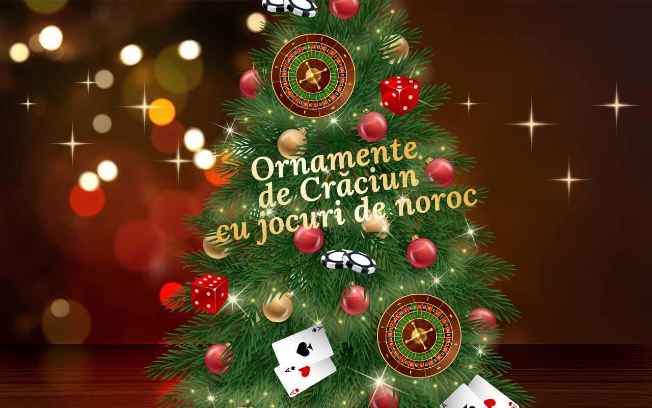 ornamente de Crăciun cu jocuri de noroc