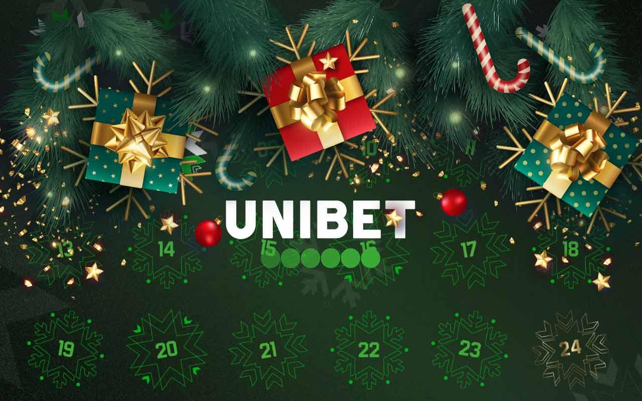 calendar Crăciun Unibet
