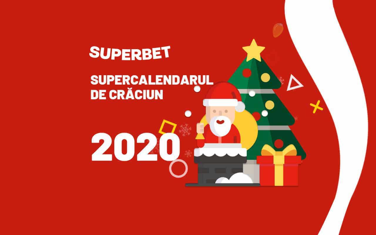 Supercalendarul de Crăciun Superbet