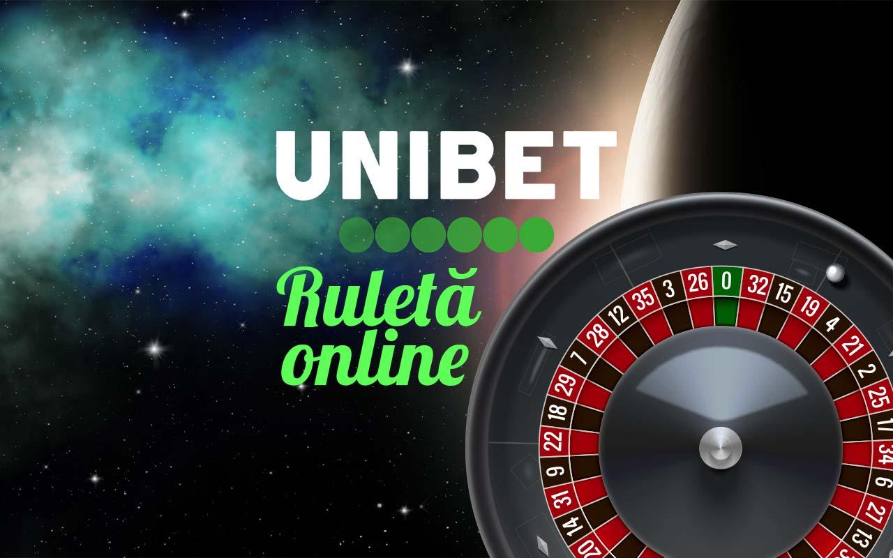 unibet ruletă