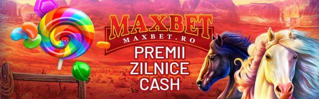 PREMII ZILNICE CASH LA MAXBET