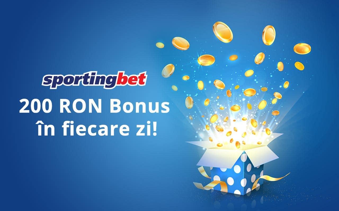 bonus zilnic Sportingbet