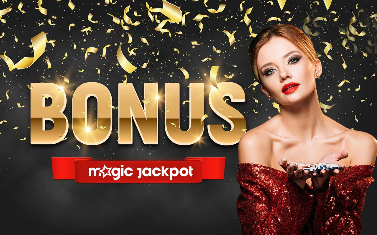 Bonus de bun venit Magic Jackpot