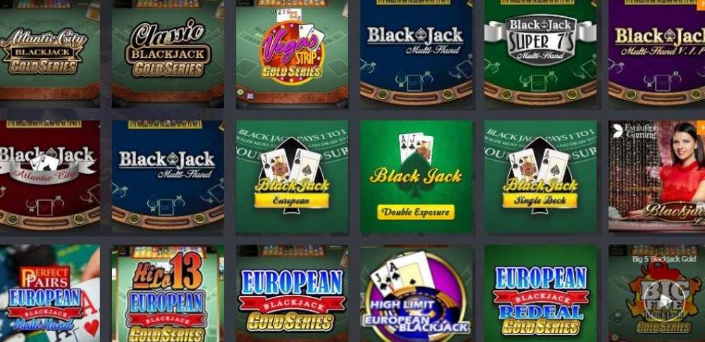 bonus blackjack jocuri video