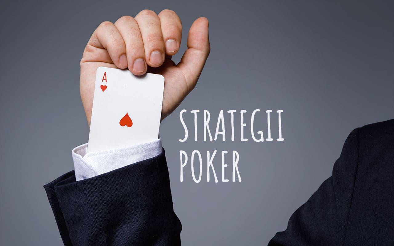 strategii poker