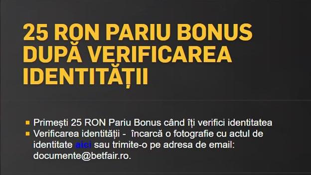 betfair bonus fără depunere