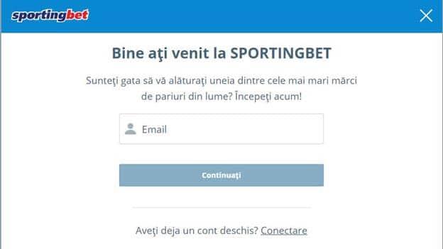 inregistrare sportingbet