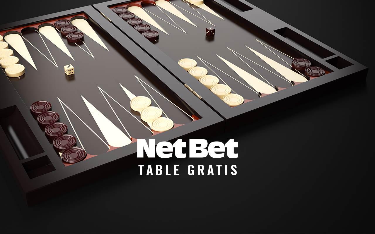 Netbet table online
