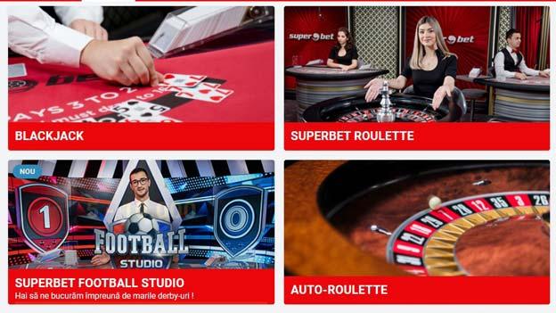 superbet live casino