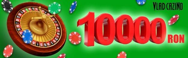 10.000 RON la Turneul live casino