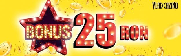 25 RON bonus pt sloturi