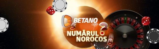Numărul zilei la ruleta Exclusivă Betano din Cazinoul Live