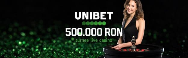 Turnee live casino de 500.000 RON