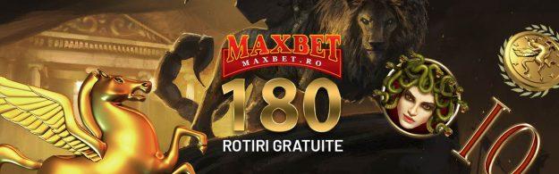 VINERI: 180 DE ROTIRI GRATUITE
