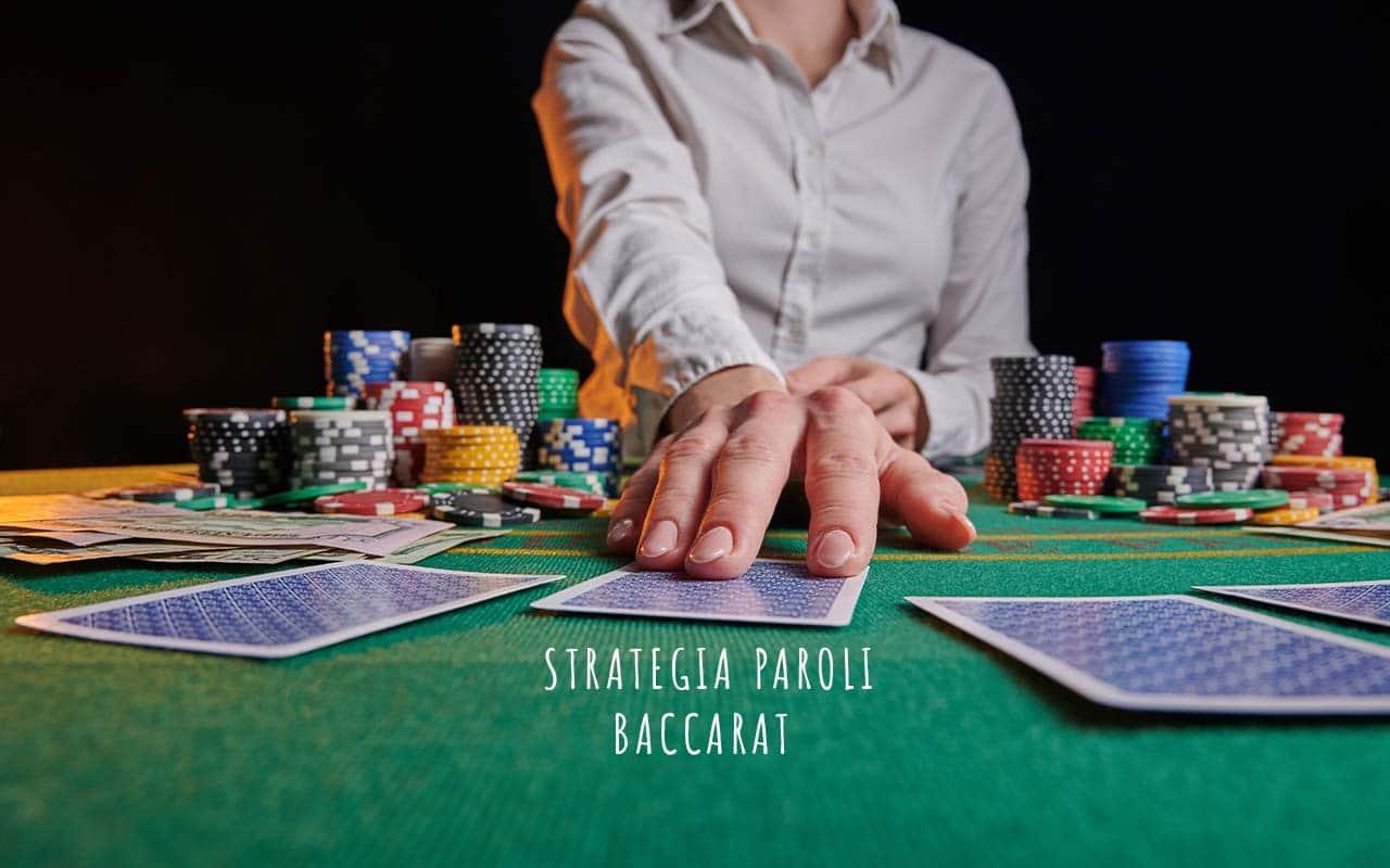 strategia Paroli baccarat