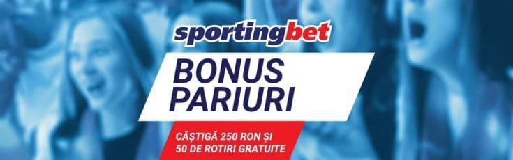Bonus Sportingbet pariuri