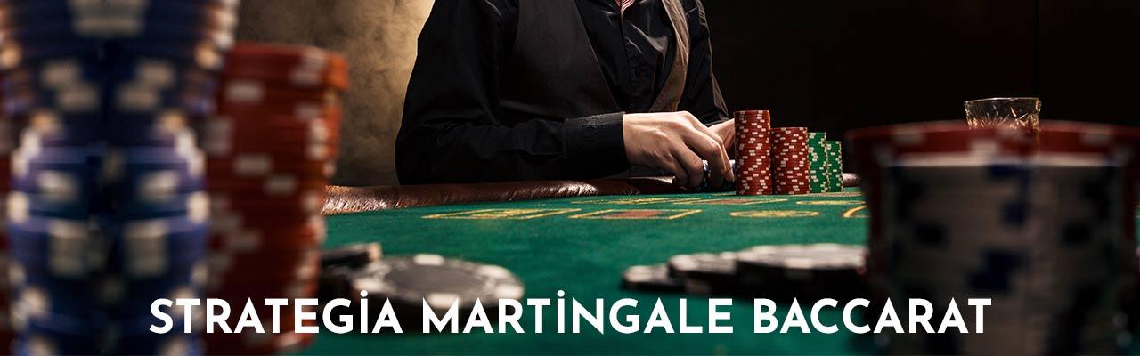 strategia Martingale baccarat